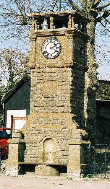 Thornford: jubilee clock