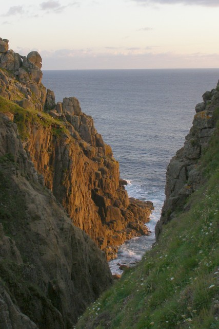 Zawn Trevilley from Trevilley Cliff