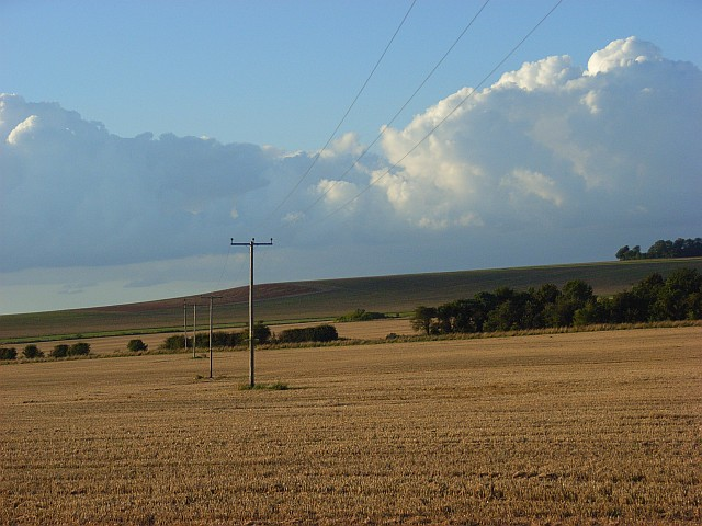 Harvested farmland, Churn