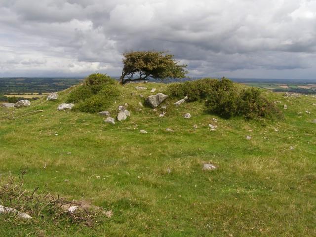 Clitters Cairn, East Moor