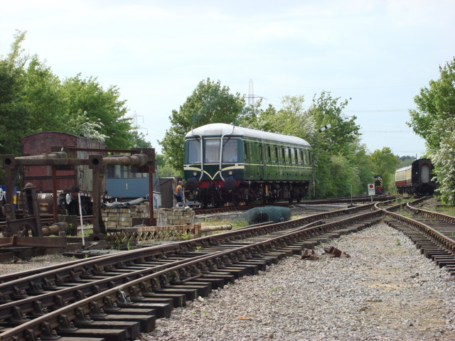 Class 121 on the Colne Valley Railway
