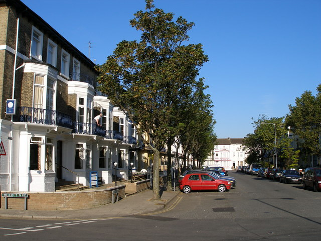 Camperdown, terraced housing