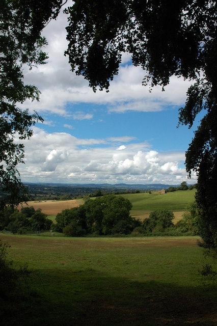 Bredon Hill above Kemerton