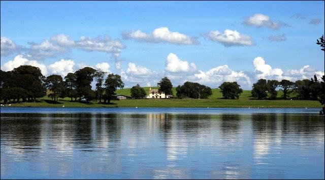 View across Milton Loch