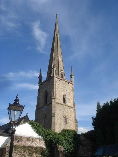 St Mary's church spire