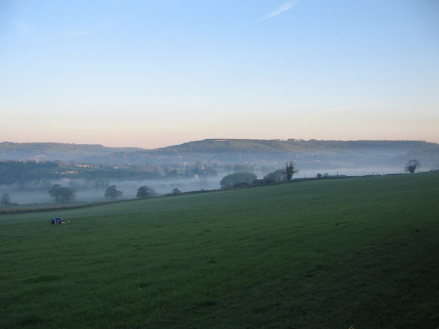 Early morning mist in the Avon valley.