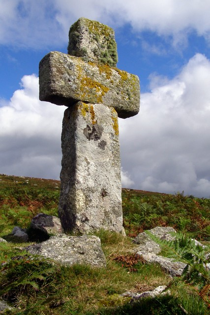 Stone cross on Ridge Hill