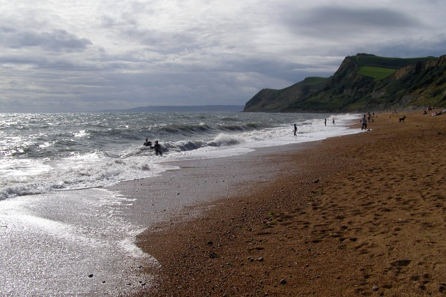 Beach at Eype's Mouth