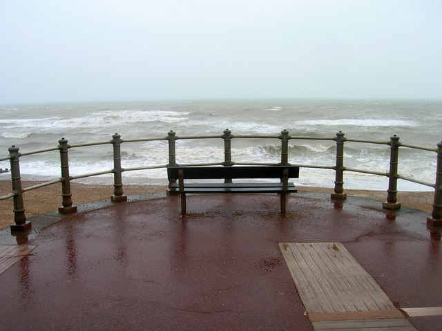 Viewing Stormy Seas, St Leonards