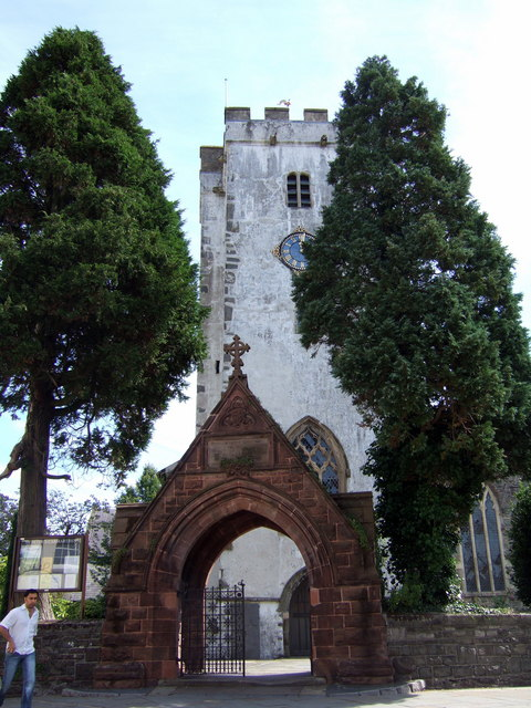St Peter's tower and lychgate