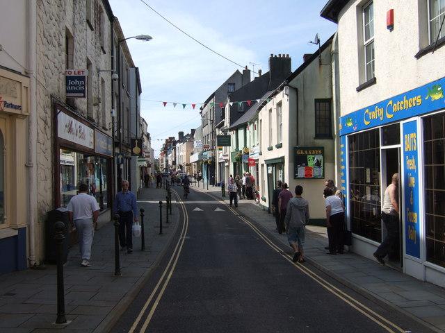 King Street Caerfyrddin/Carmarthen