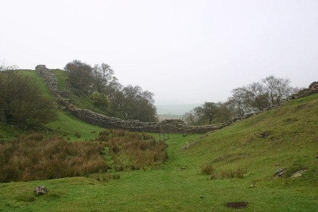 Walltown Crags Roman Wall
