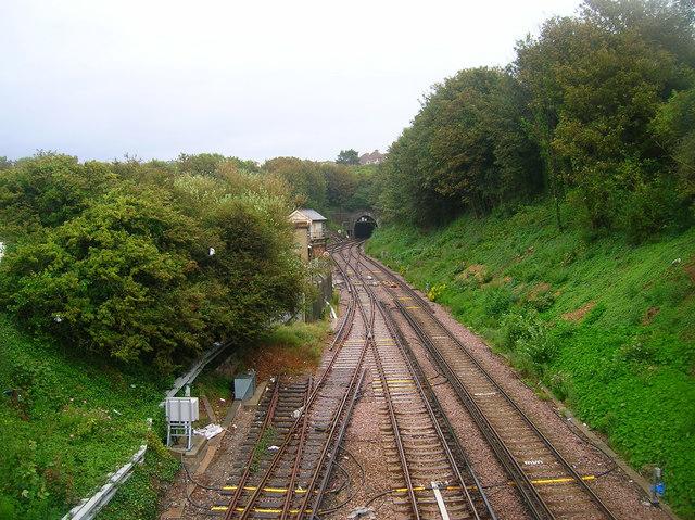 Bo-Peep Junction and Bo-Peep Tunnel, Western Portal
