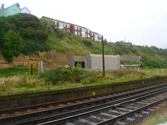 Site of West Marina Station