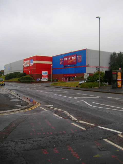 Warehouses, Bexhill Road