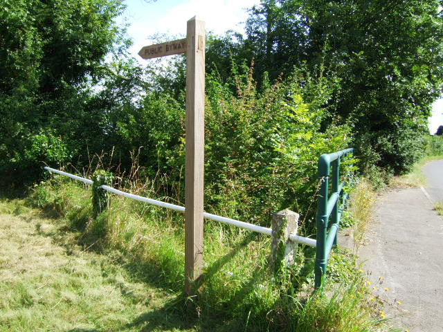 Byway and fence
