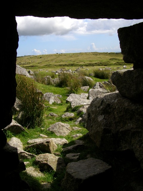 View from Daniel Gumb's Cave, Craddock Moor