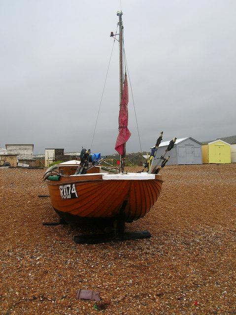 RX174, Bulverhythe Beach