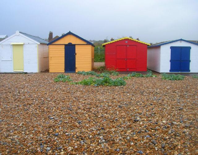 Beach Huts, Bulverhythe