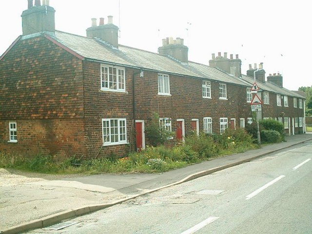 Row of Cottages on The Hill,Wheathampstead