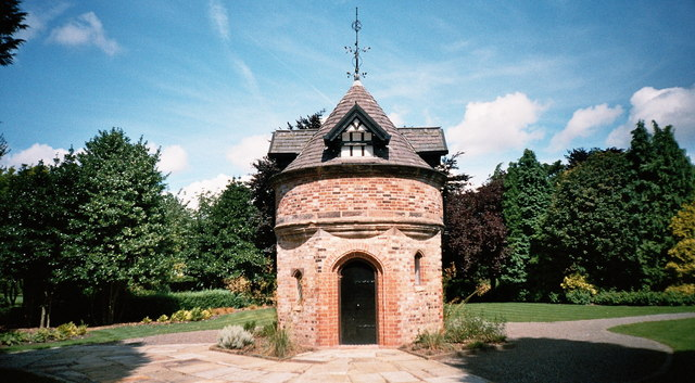 Historic Dovecote at Walkden Gardens, Sale, Cheshire
