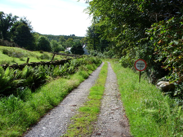 Farm Track on Cairnsmore Estate