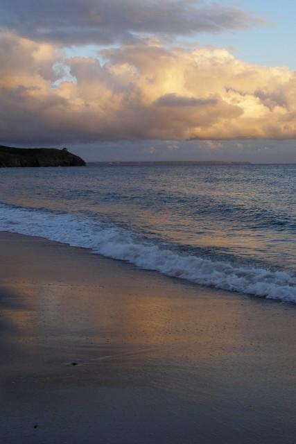 Evening at Praa Sands