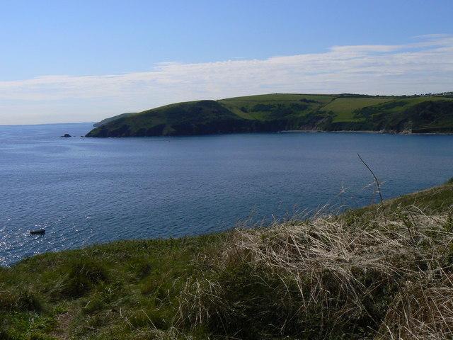 Portnadler Bay from Looe Island