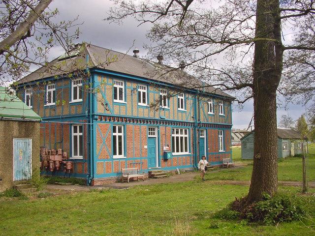 Unusual House, Waltham Abbey Gunpowder Mills