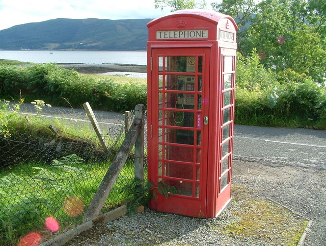 Coulport Telephone Box