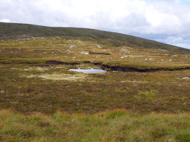 A Wee Lochan  in the Deers Den