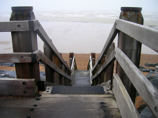 Steps to the Beach, Bulverhythe