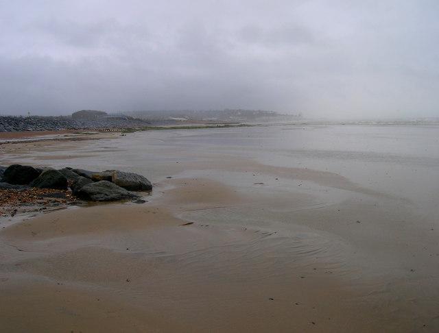 Foul Weather over Bulverhythe Beach