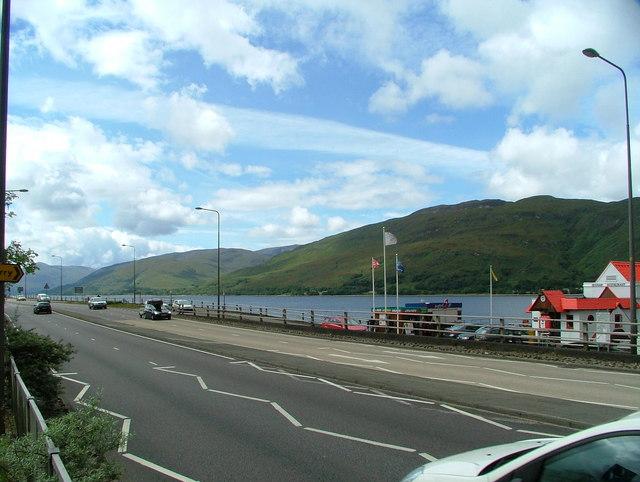 Fort William looking across loch