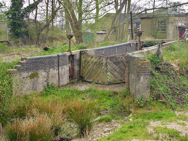 Old Lock, Waltham Abbey Gunpowder Mills