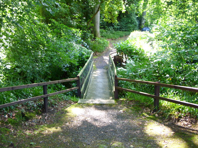 Footbridge over the Cairnsmore Burn