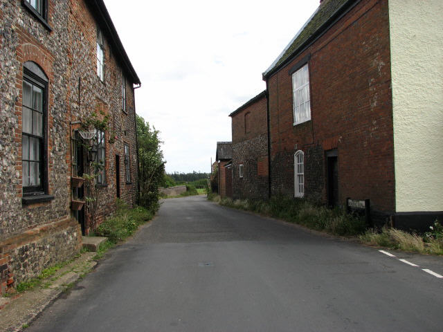 Honing Row, view east