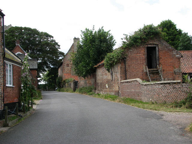 Honing Row, view west