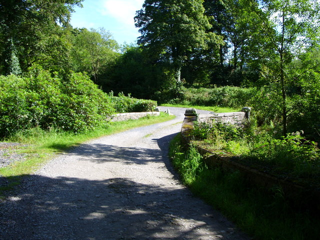 Road leading to Cairnsmore House