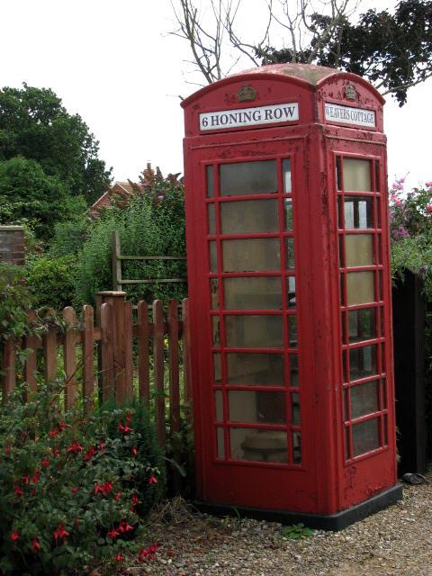 Private telephone box