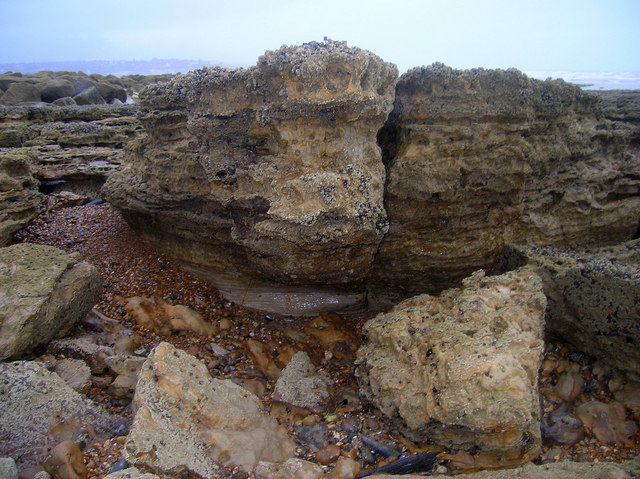 Eroded Cliff Remains, Glynne Gap