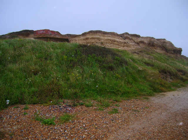 Cliffs near Galley Hill