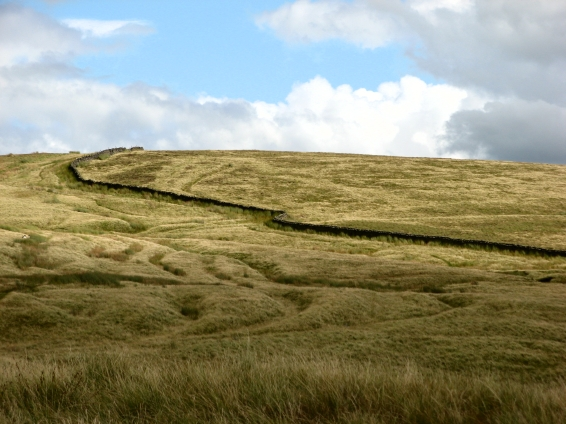 Wall on Pendle