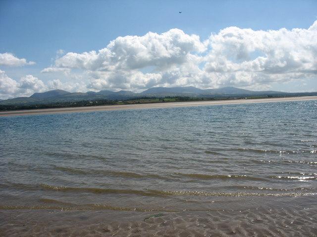 Outer edge of the sandbank