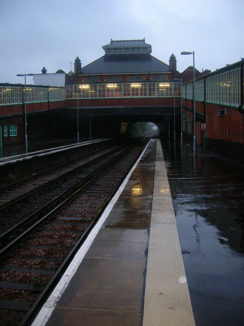 Bexhill Station in the Rain