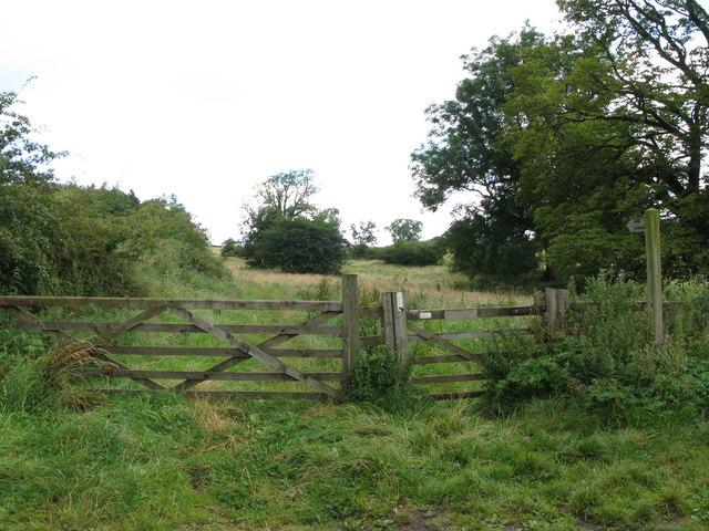 Bridleway north of Walwick