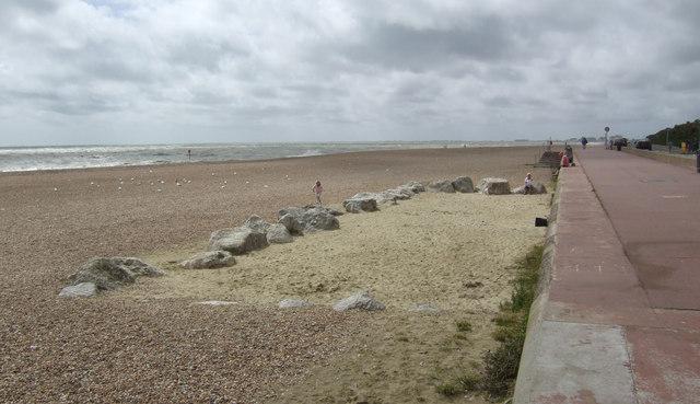 Safe beach near Seabrook