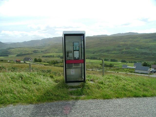 Strathcanaird phone box