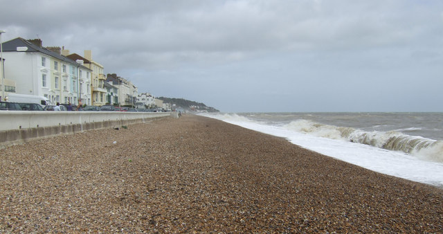 Sandgate beach and seafront
