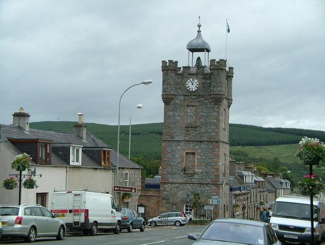 Dufftown Clock Tower (A941)